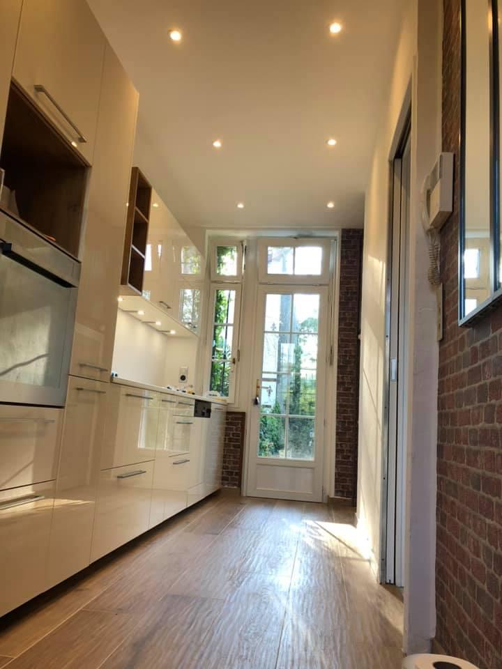 Rénovation cuisine sol, murs et meubles