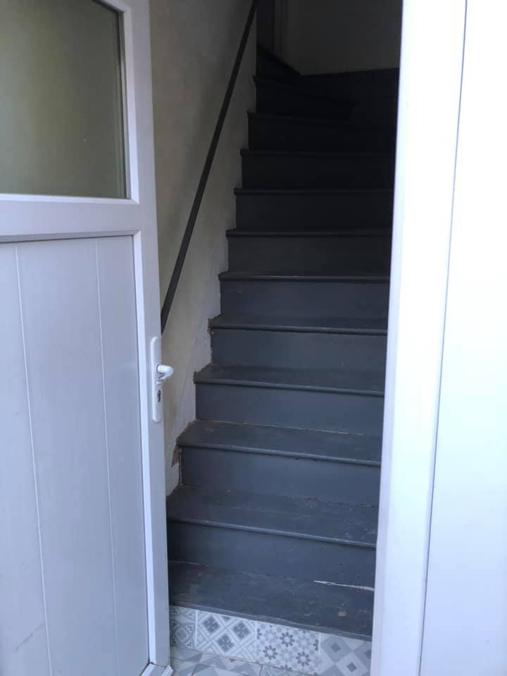 Réparation escalier parti commune